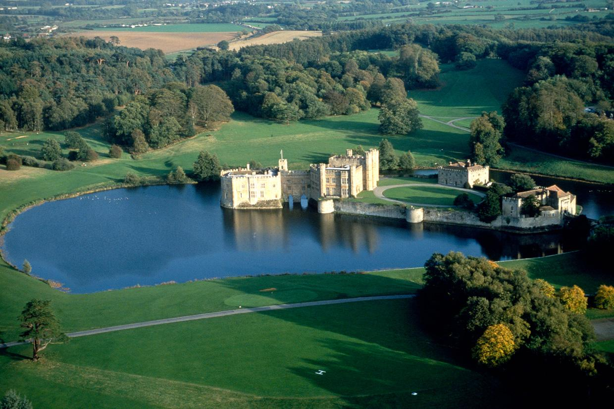Leeds Castle, Canterbury and Dover Castle